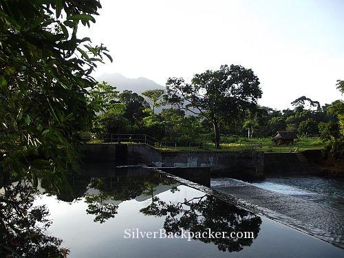 Pawala River just outside Sanctuary Garden