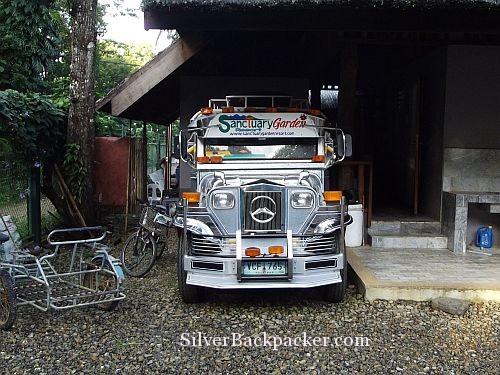 Sanctuary Garden Resort Jeepney