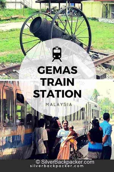 Gemas Train Station, Malaysia