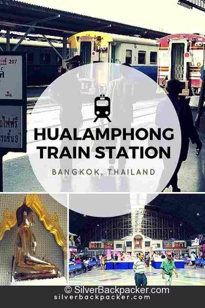 Hualamphong Train Station Bangkok