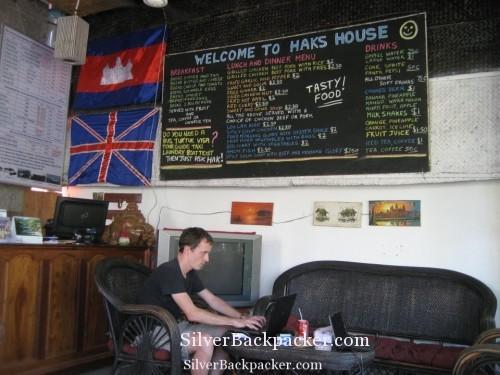 Haks House, Siem Reap communal area