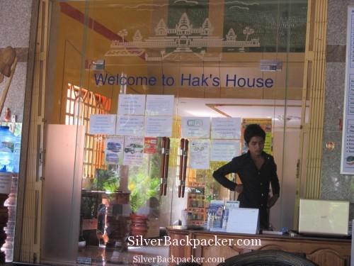 Reception Haks House, Siem Reap