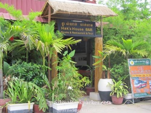 Entrance to Haks House, Siem Reap