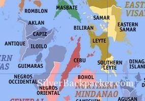 Islands of the Philippines Visayas  silverbackpackercom