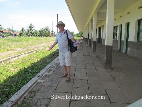 Waiting for train Battambang