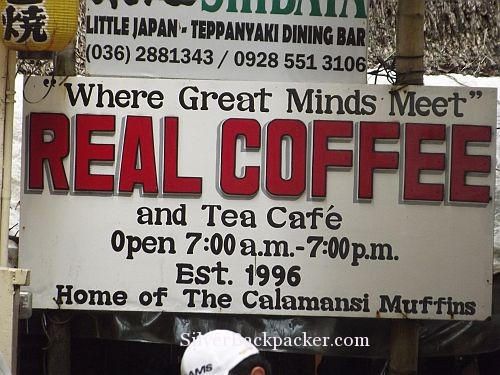 Real Coffee, Boracay