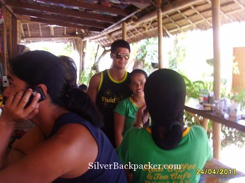 Celebrity Spotting at Real coffee Boracay