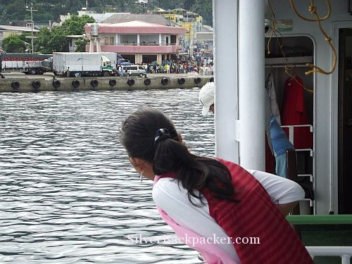 Arriving in Romblon by Montengro Ferry