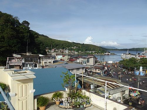 View over Romblon Town from Romblon Plaza Hotel