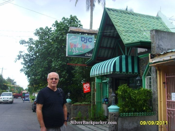 Outside DJC Halo Halo Tiwi in 2011