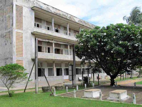Phnom Phen Tuol Sleng Genocide Museum,