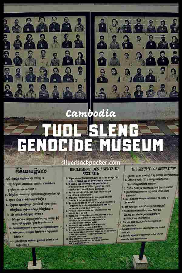 The Tuol Sleng Genocide Museum, Cambodia