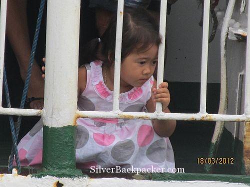 Romblon Little Girl Watching Life. Weekly Photo Challenge