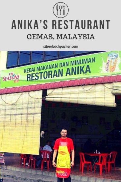 Anika's Restaurant - Gemas , Malaysia