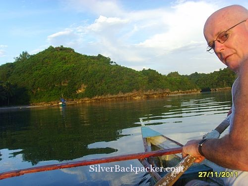Canoeing in the Cove at Baras Resort