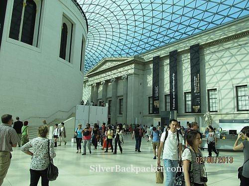 Inside the British Mueum