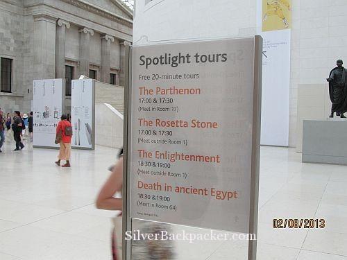 British Museum London Spotlight Tour