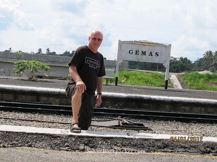 Gemas Train Station