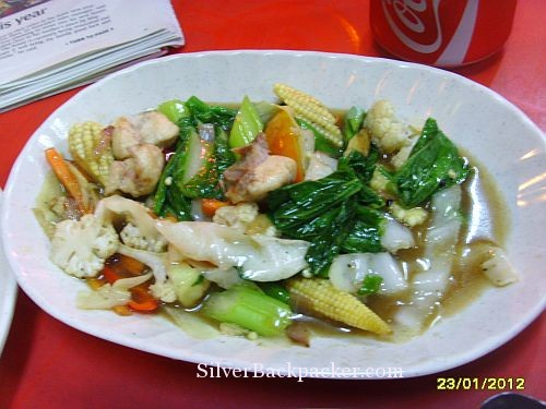Restaurant Anika Gemas Stir fry vegetables