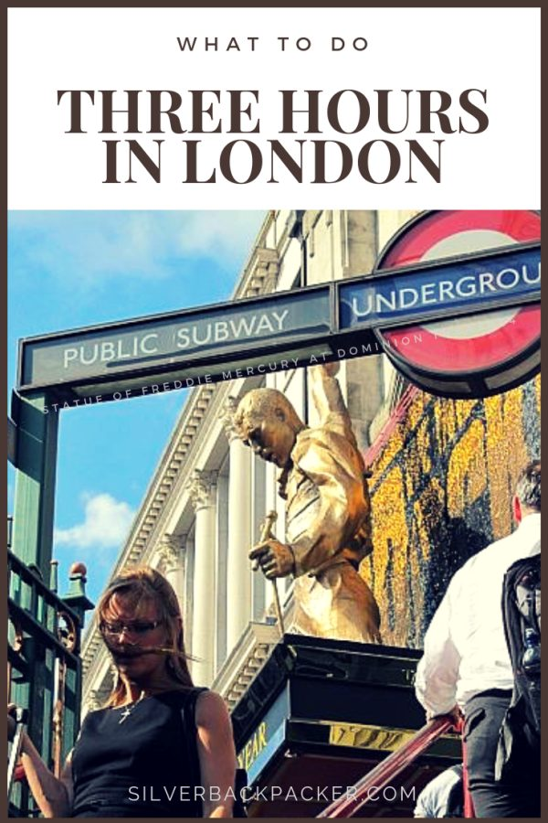 Three hours in London