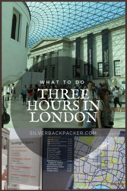 What to do with Three hours in London