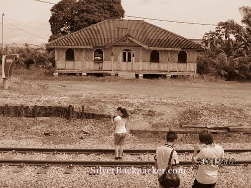 jungle railway workers house