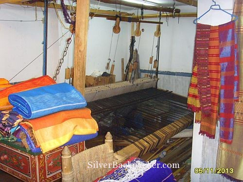 The Loom at Mammad Decorations Marrakesh