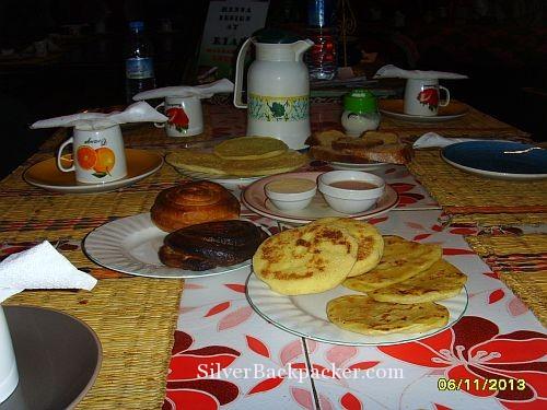 Breakfast Riad Marrakech Rouge