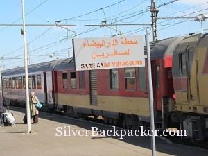 Casablanca Station Platform
