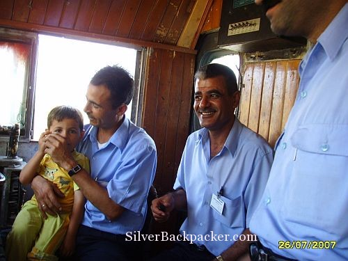 Coffee and a chat with Syrian Train Driver