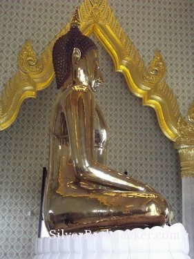 Golden Buddha Wat Traimit Bangkok