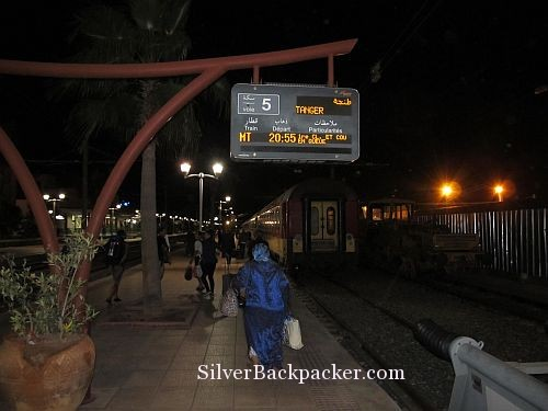Marrakesh to Chefchaouen by train and bus