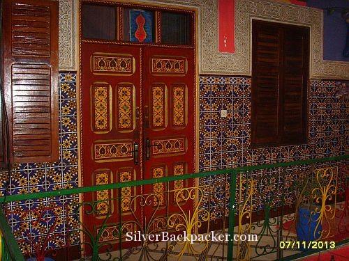 Riad Marrakech Rouge 1st floor balcony