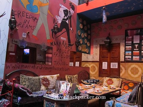 Where to stay in Marrakech ~ Riad Marrakech Rouge