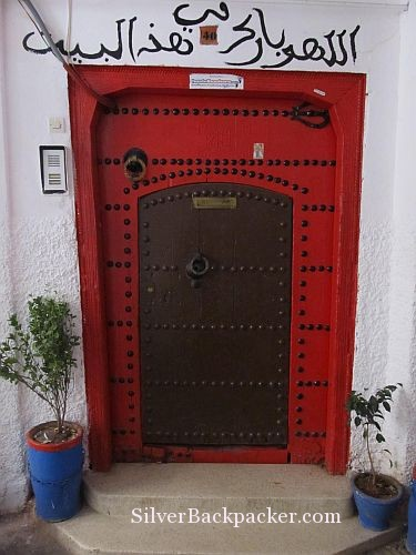 Riad Marrakech Rouge Doorway