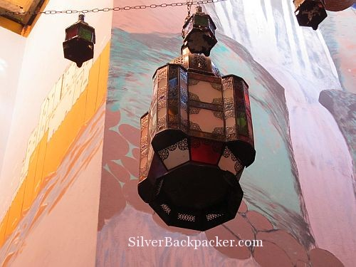 Riad Marrakech Rouge Hanging Lamp
