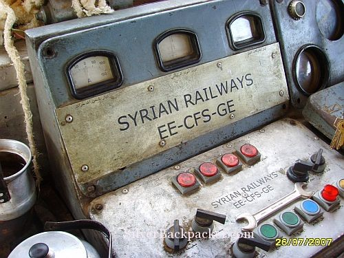 The Day I Drove a Train In Syria