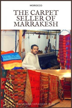 The Carpet Seller of Marrakesh