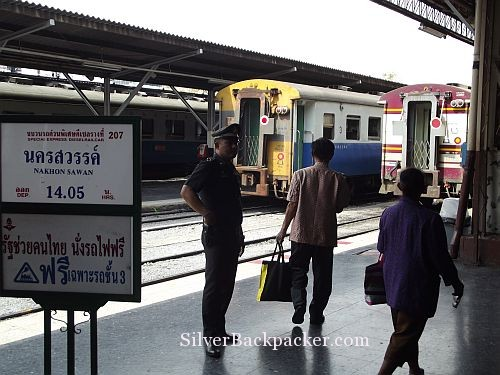 Trains at Platforms Bangkok