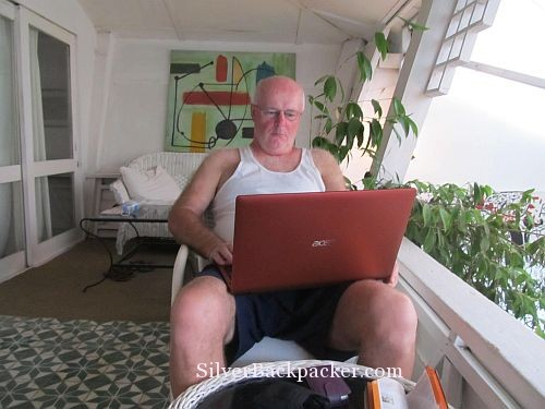 Using unsecured wifi in Phnom Phen