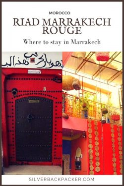 Where to stay in Marrakech - Riad Marrakech Rouge