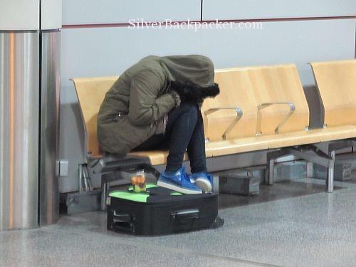 airport sleeping Gatwick