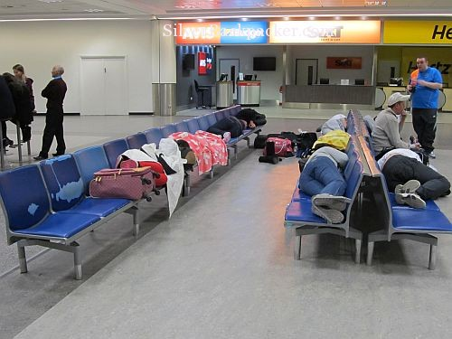 group airport sleep gatwick