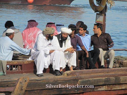 Abra Passengers Dubai Creek
