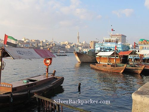 A Walk along Dubai Creek