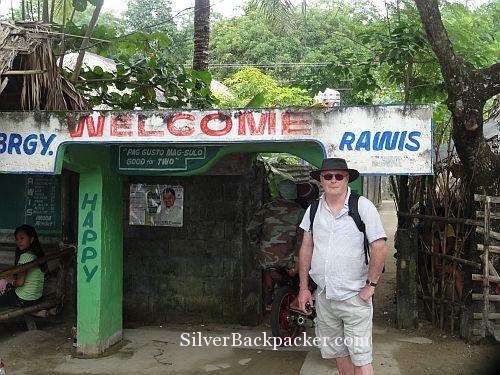 Arriving at Rawis San Miguel