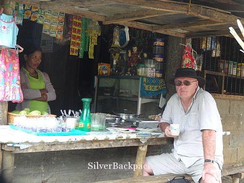 Breakfast time at Brgy Visitas San Miguel