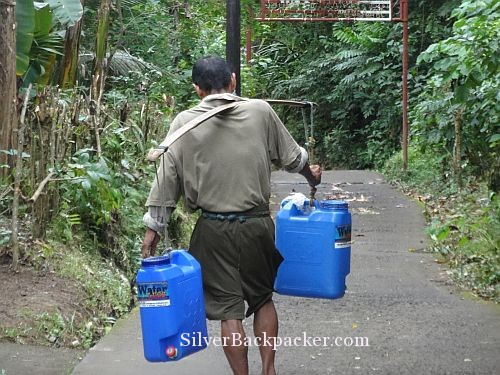Carrying the Drinking Water Home San Miguel