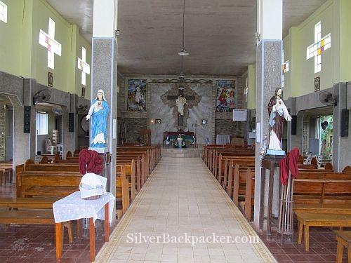 Inside Visitas Church San Miguel