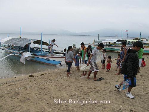 San Miguel Rawis Beach Landing